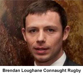 Brendan Loughane Connaught Rugby