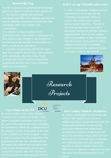 DCU President's Awards for Engagement 2015-poster