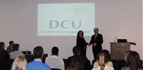President's Award for Engagement 2013- Special Mention