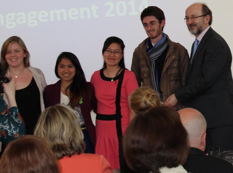 President's Award for Engagement 2014-Winner, Grow Your own Society