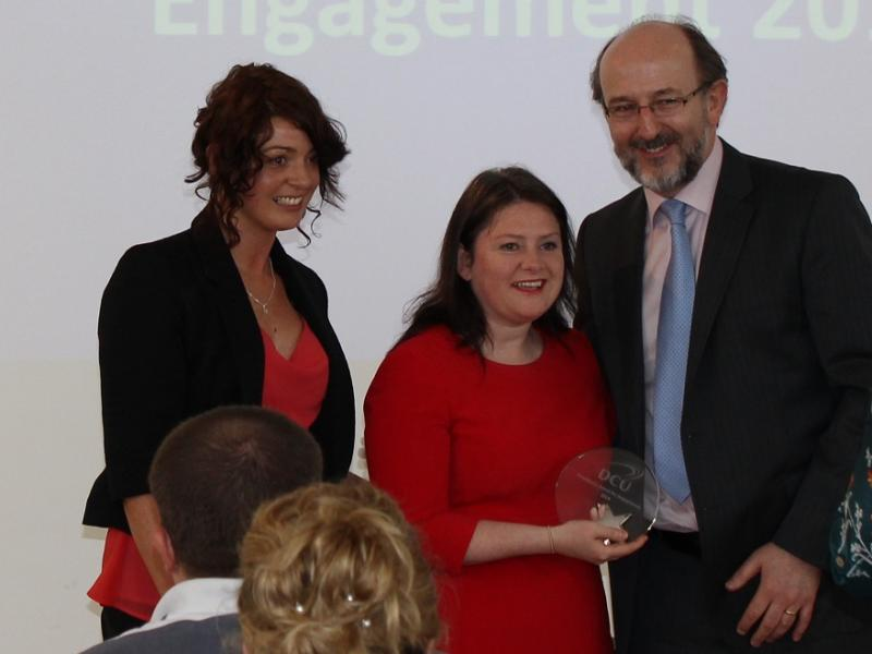 President Award for Engagement 2014- Winner, Women for Election