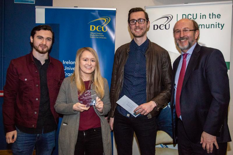 2018 DCU President's Award for Engagement - winners