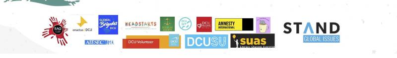 Celebrating International Volunteer Day, partners logos