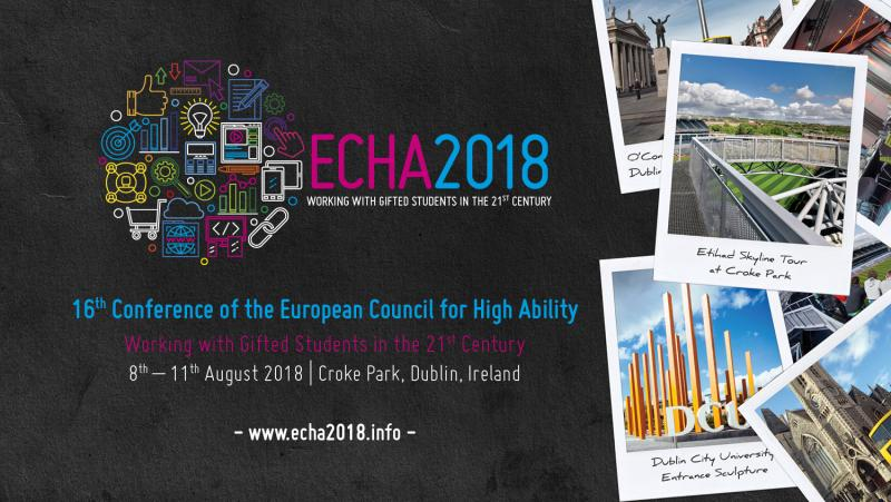ECHA 2018 Postcard: 8th - 11th August 2018, Croke Park, Dublin, Ireland