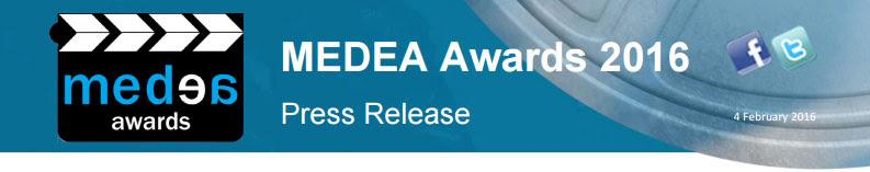 MEDEA Awards logo 2016
