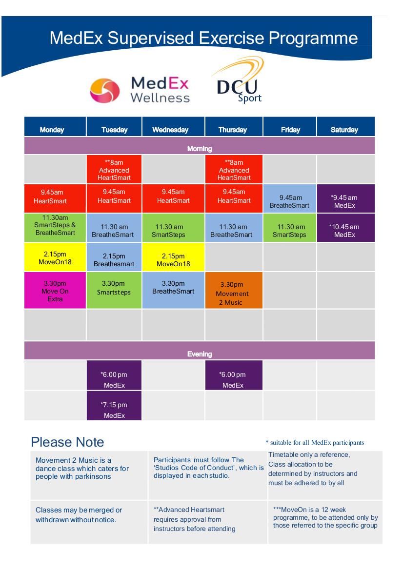 Programmes MedEx Wellness