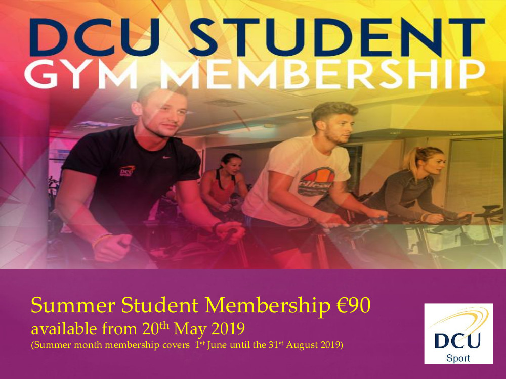 People on spin bikes, student summer rate €90