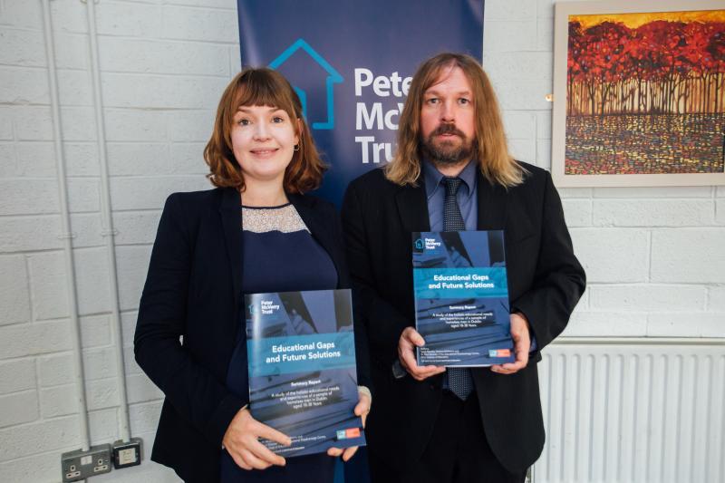 Sarah Murphy and Paul Downes