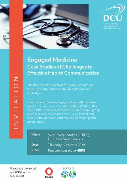 Seminar on on urgent health communication issues facing
