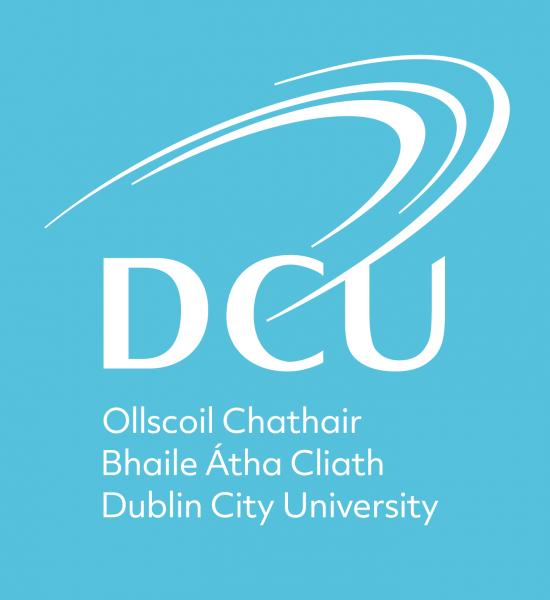 Blue DCU logo