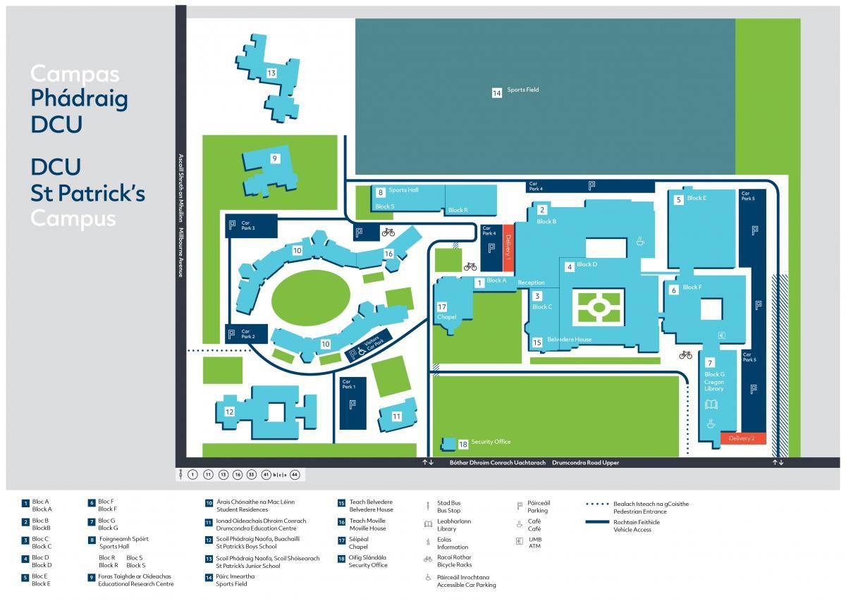 Information - DCU Campus Map | DCU