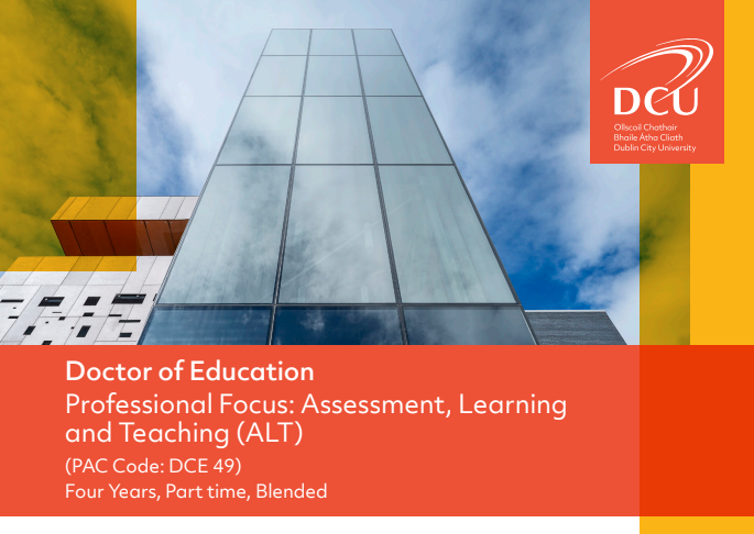 Doctor of Education - Assessment, Learning and Teaching