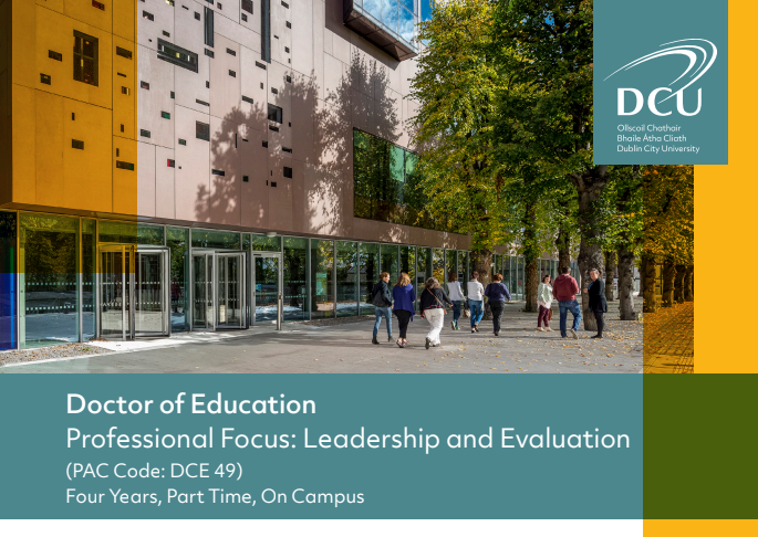 Doctor of Education - Leadership and Evaluation