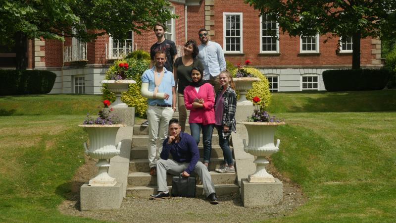 DCU Summer School students