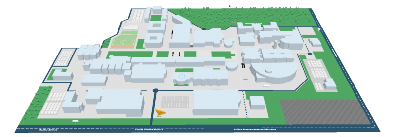 DCU Glasnevin - 3D Interactive Campus Map - Please click to activate
