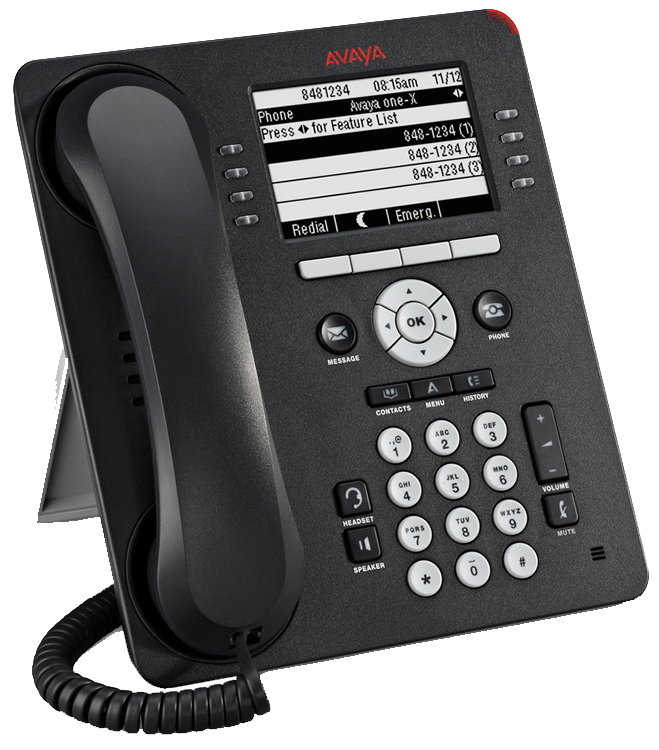Avaya 1608 IP telephone handset