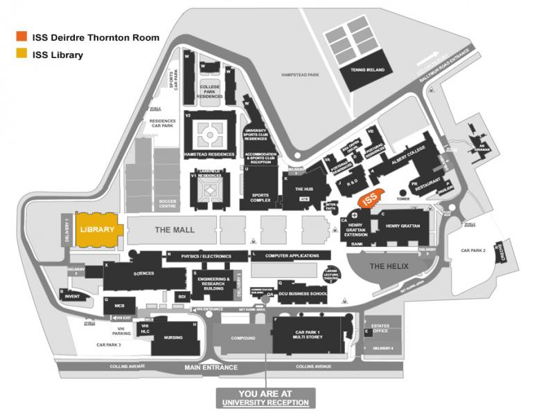 Campus Maps | information and System, Services | DCU