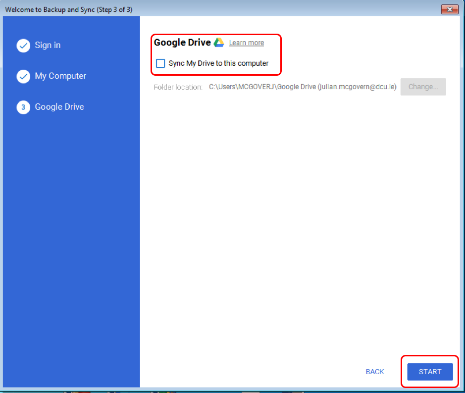 Google-Drive   DCU
