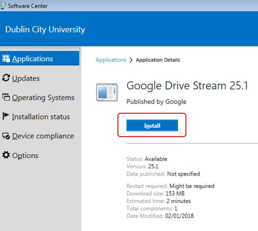 Google-Drive | DCU