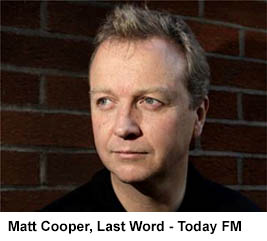 Matt Cooper, Last Word - Today FM