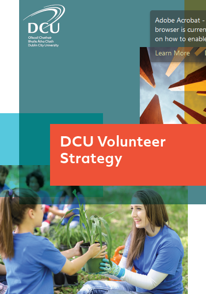 DCU Volunteer Strategy