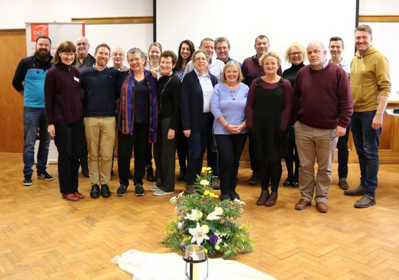 Delegates to Chaplaincy at Third Level conference January 2019