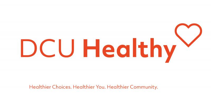 DCU Healthy logo