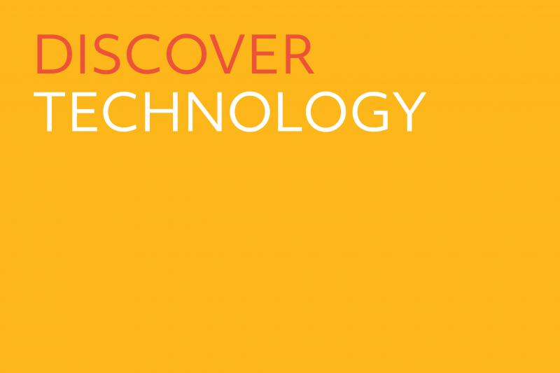 Image of Discover Technology label.