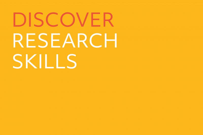 Discover Research Skills.