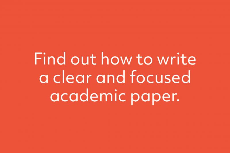 Discover assignment writing - course description