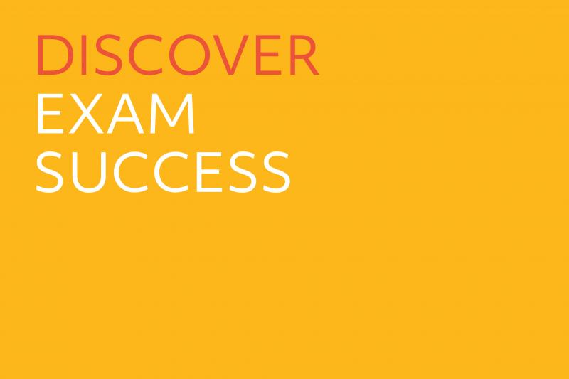 Cover slide - Discover Exam Success