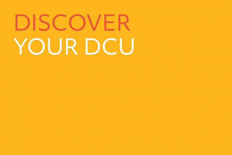 Cover slide for Discover your DCU