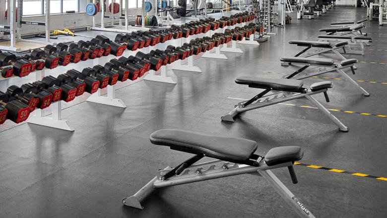 DCU Sport Gym Floor