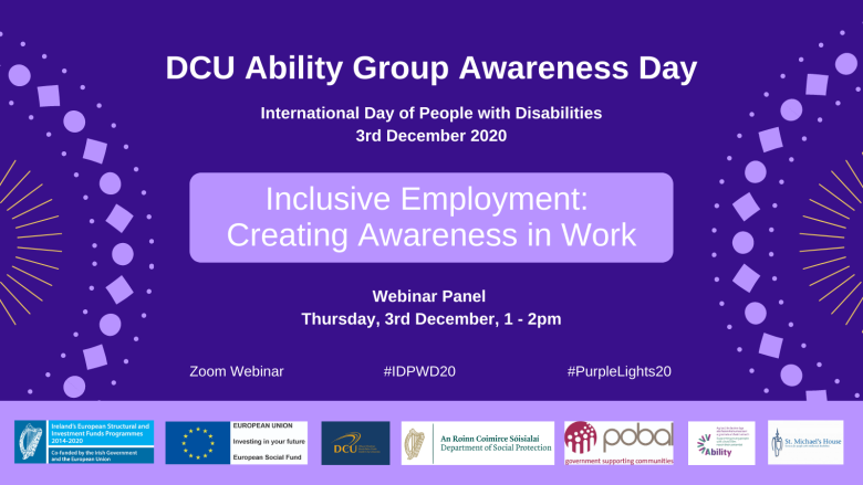 Inclusive Employment: Creating Awareness in Work - Webinar
