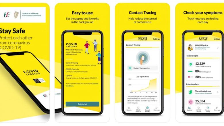 Over 2 million Irish people have downloaded the COVID tracking app