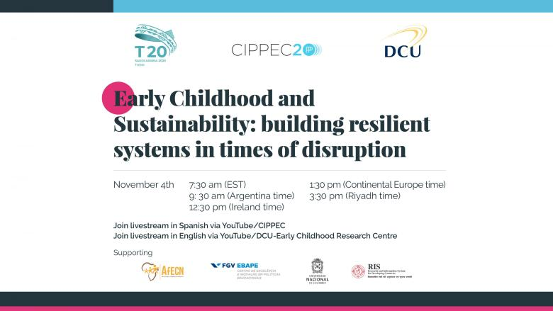Think20 side event co-hosted by DCU-ECRC and CIPPEC