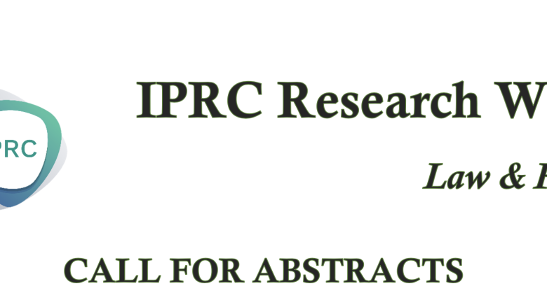IPRC Research Week Law & Policy 2021