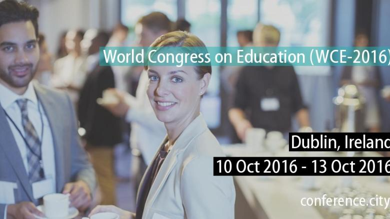 Dr Fiona King delivers keynote speech at the World Congress on Education (WCE-2016)