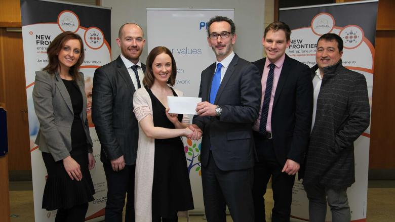 Rain + Conker wins 2nd annual New Frontiers business competition