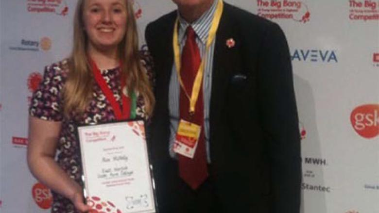 London International Youth Science Forum Big Bang Competition 2017 Prizewinner