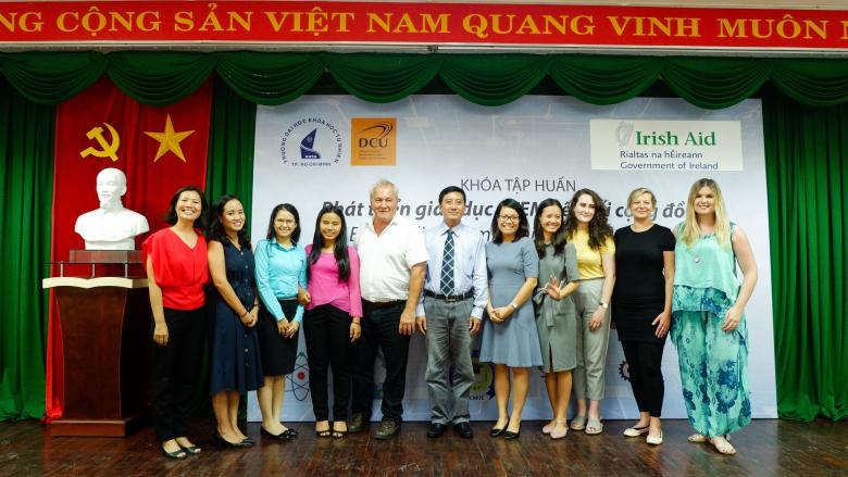 DCU (and DIT) in partnership with HO CHI MINH CITY UNIVERSITY OF SCIENCE to develop Community Based Learning
