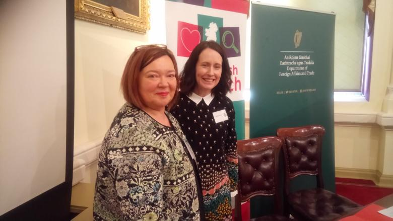 Dr Kay Maunsell and Dr Ashling Bourke, both of the School of Human Development DCU, pictured together.