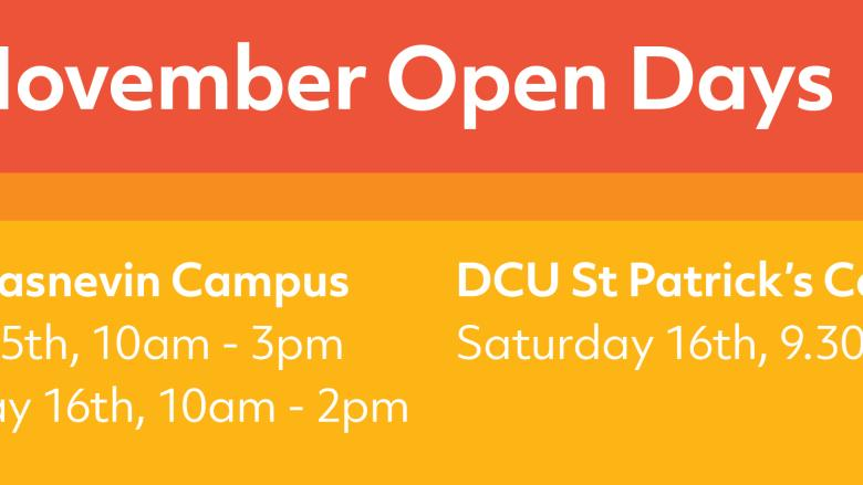 DCU Open Days