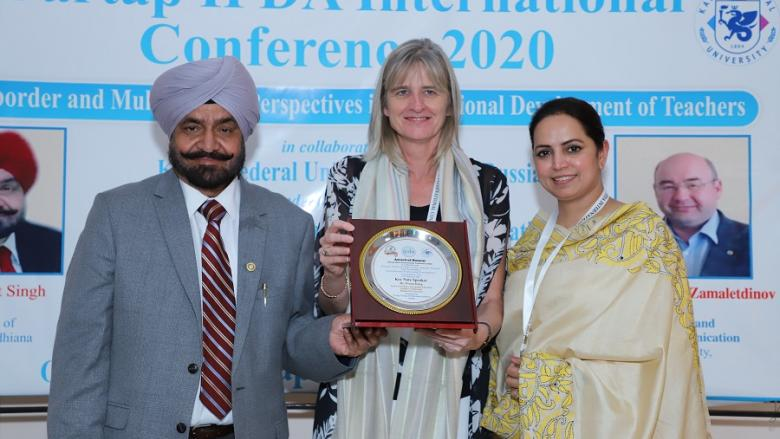 Dr Fiona King delivers keynote at International Conference in India