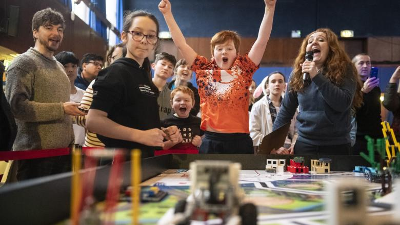 Building the Future of Science and Technology with LEGO