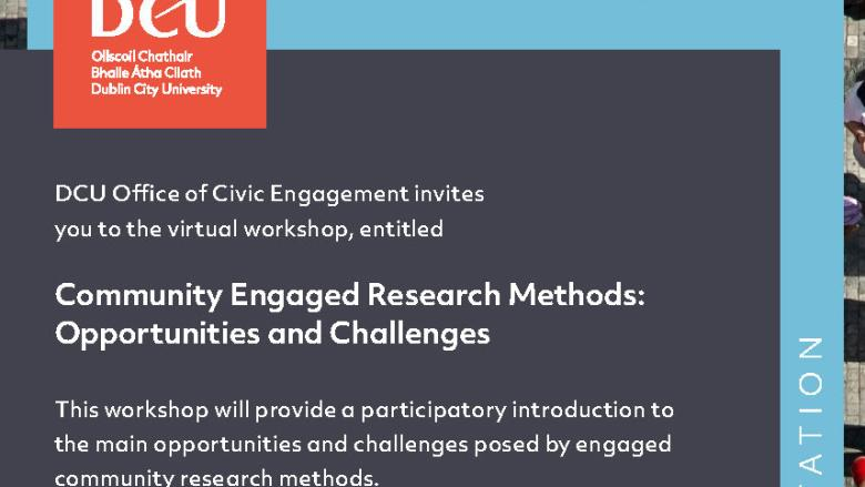 Community Engaged Research Methods: Opportunities and Challenges