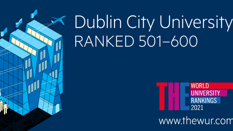 DCU moves up in global university rankings