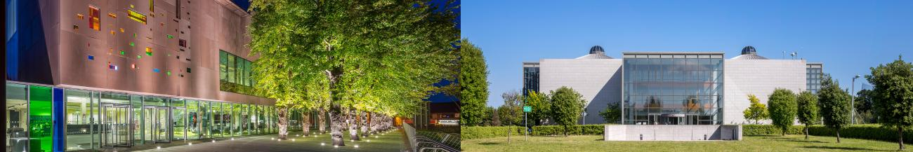 Composite Image of St Pat's and Glasnevin Library Exteriors