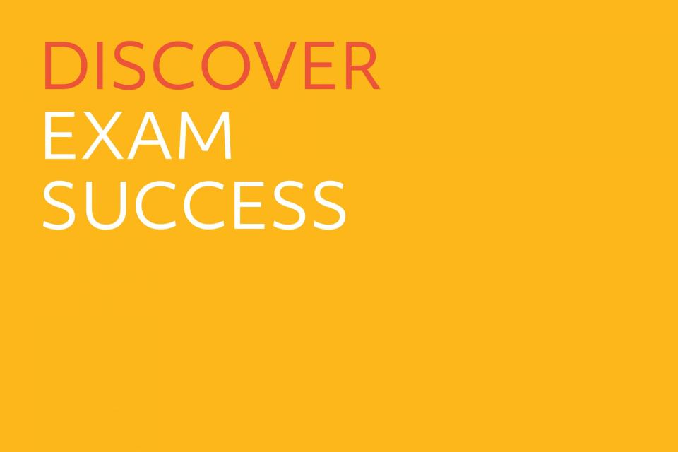 Image of Discover Exam Success tile.