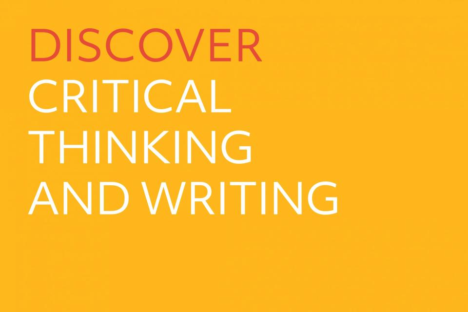 Discover Critical Thinking and Writing logo